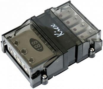 Дистрибьютор питания KICX DAG0244P с вольтметром