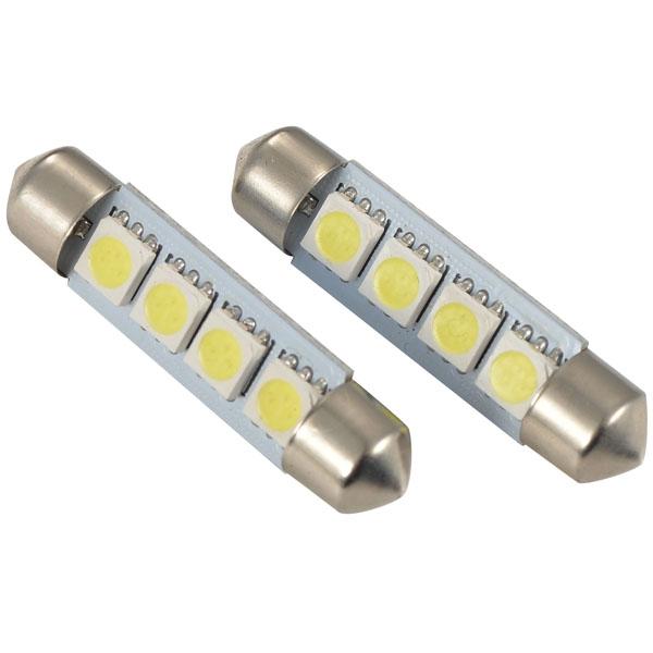 Комплект светодиодных ламп SVS T10-39MM-4SMD 5050