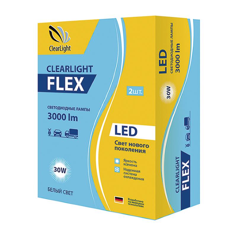 Комплект головного света LED Clearlight H7 3000 lm