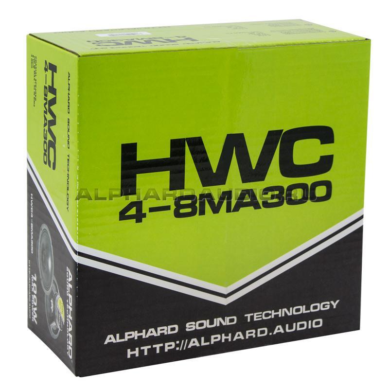 Коаксиальная акустическая система Alphard HWC4-8MA300 (компл)