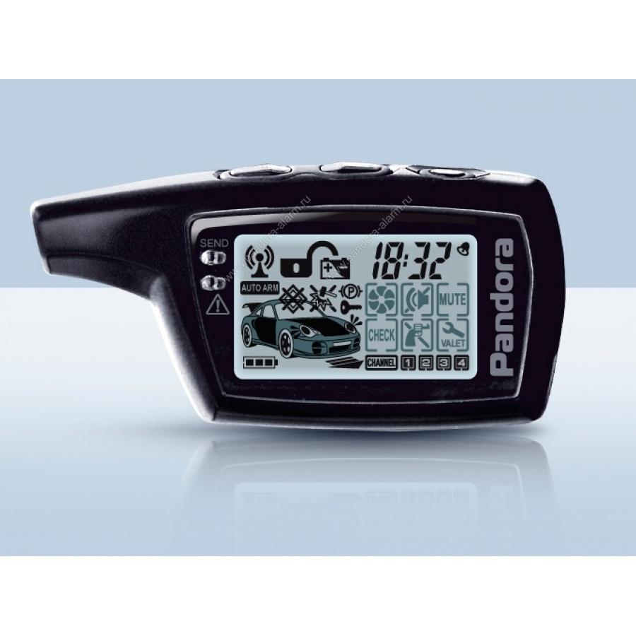 Брелок Pandora LCD D0745 для LX 3055, X-2000