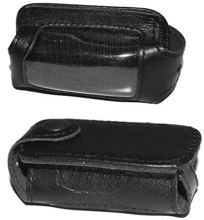Чехол брелока Tomahawk Z3/Z5 (черная кожа)